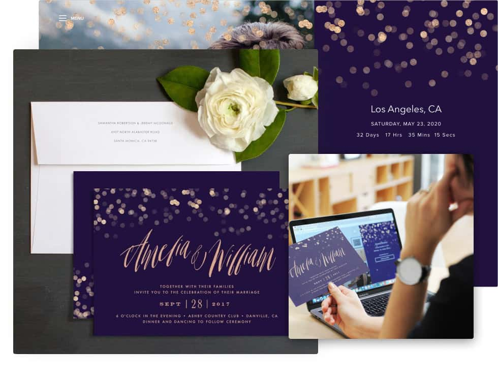 Online Save The Date Templates (with Printing Services ...